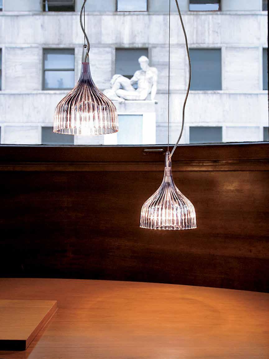 Kartell E hanglamp Italiaans design