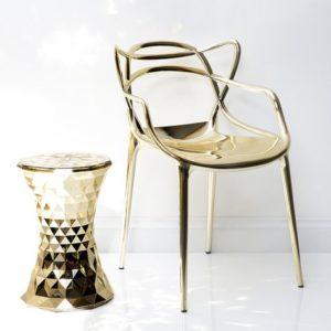 Kartell Masters Chair goud